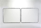 "48"" x 12' Chain Link Fence Drive Gate"