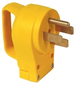 Yellow 50 Amp Replacement Power Cord Plug