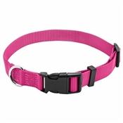 """Pet Expert Adjustable Dog Collar, Pink, 3/4"""" x 14-20"""""""