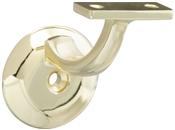 Heavy Duty Handrail Bracket, Brass