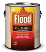 Acrylic Solid Color Wood Finish, Deep Base, 1 Gallon